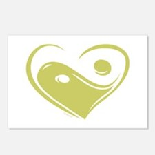 Ying Yang Love Postcards (Package of 8)