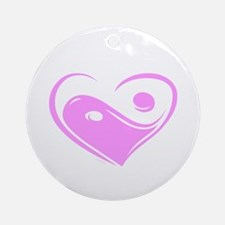 Ying Yang Love Ornament (Round)