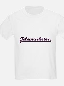 Telemarketer Classic Job Design T-Shirt