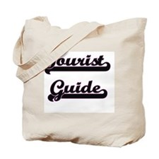 Tourist Guide Classic Job Design Tote Bag