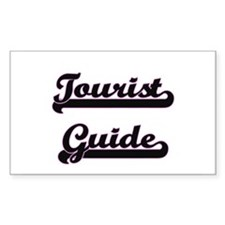 Tourist Guide Classic Job Design Decal