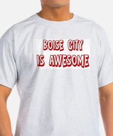 Boise City is awesome T-Shirt