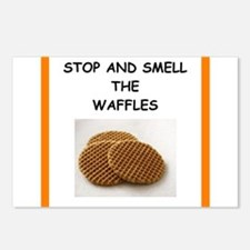 a funny food joke Postcards (Package of 8)