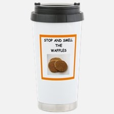 a funny food joke Travel Mug