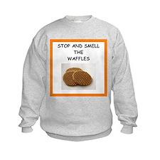 a funny food joke Sweatshirt