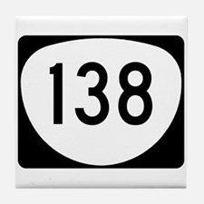Route 138, Oregon Tile Coaster