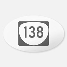 Route 138, Oregon Decal