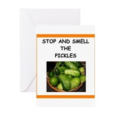 pickle Greeting Cards
