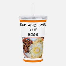 eggs Acrylic Double-wall Tumbler