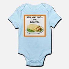 a funny food joke Body Suit
