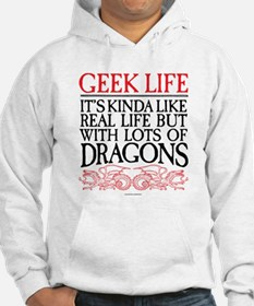 Geek Life With Dragons Hoodie