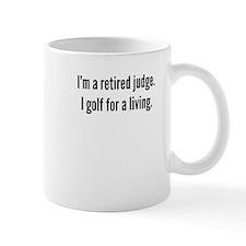 Retired Judge Golfer Mugs