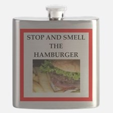 hamburger Flask