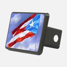 Cool Puerto rico flag Hitch Cover