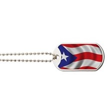 Cute Puerto rican pride Dog Tags