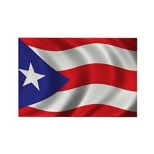 Cute Puerto rican Rectangle Magnet