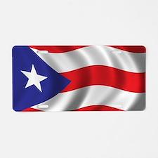 Unique Puerto rico flag Aluminum License Plate