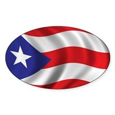 Funny Puerto rico flag Stickers
