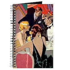 Vintage Art Deco Cocktail Party Journal