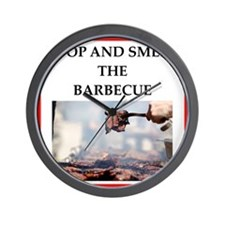 barbecue Wall Clock