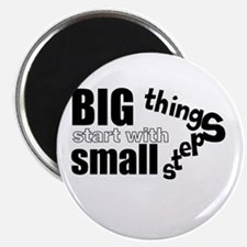 Motivating Text Quote Magnets