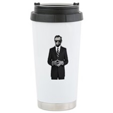 Lincoln Serious Busines Travel Coffee Mug