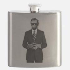 Lincoln Serious Business Flask