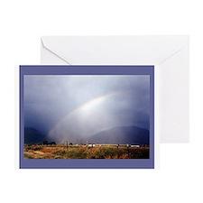 TAOS RAINBOW Greeting Card