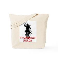 Trombone Ninja Tote Bag