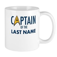 Star Trek Personalized Father's Day Small Mug