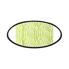 Lime green animal print (basic) Patch