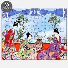 Geisha, Musicians, Kimonos ! Puzzle