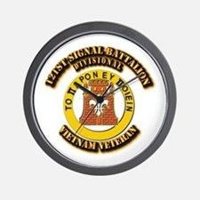 121st Signal Battalion (Divisional) Wit Wall Clock