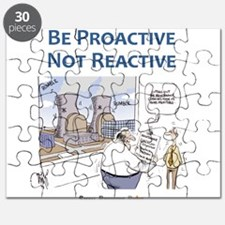Be Proactive Not Reactive Puzzle