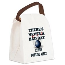 Cute Bowling pins Canvas Lunch Bag