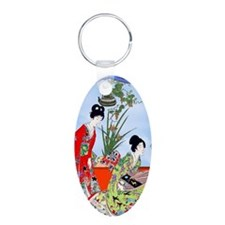 Geisha, Musicians, Kimonos ! Keychains