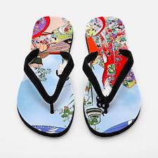 Geisha, Musicians, Kimonos ! Flip Flops