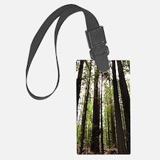 Cute Redwood trees Luggage Tag