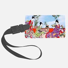 Geisha, Musicians, Kimonos ! Luggage Tag