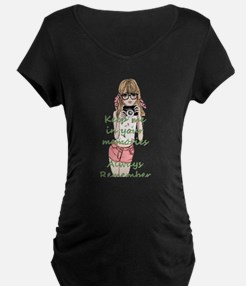 Keep me in your memory Maternity T-Shirt