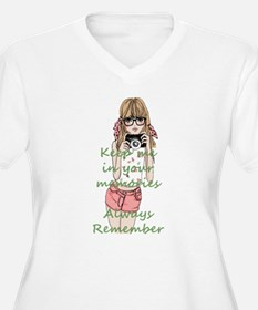Keep me in your memory Plus Size T-Shirt