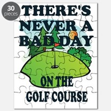 GOLF - THERE'S NEVER A BAD DAY ON THE GOLF  Puzzle