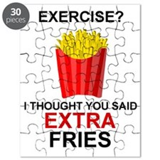 EXERCISE - EXERCISE?  I THOUGHT YOU SAID EX Puzzle