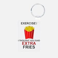 EXERCISE - EXERCISE?  I TH Keychains
