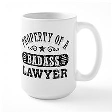 Property of a Badass Lawyer Coffee Mug