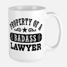 Property of a Badass Lawyer Mug
