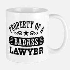 Property of a Badass Lawyer Small Small Mug
