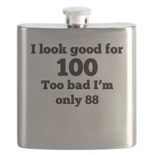 Too Bad Im Only 88 Flask