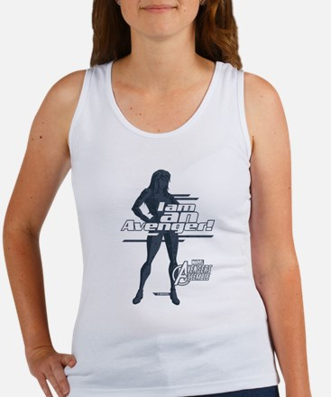 The Avengers Black Widow: I am an Women's Tank Top