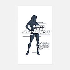 The Avengers Black Widow: I am Decal